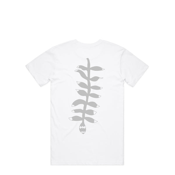 Leaf White T-Shirt