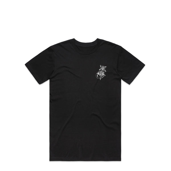 Marva Skull Black T-Shirt