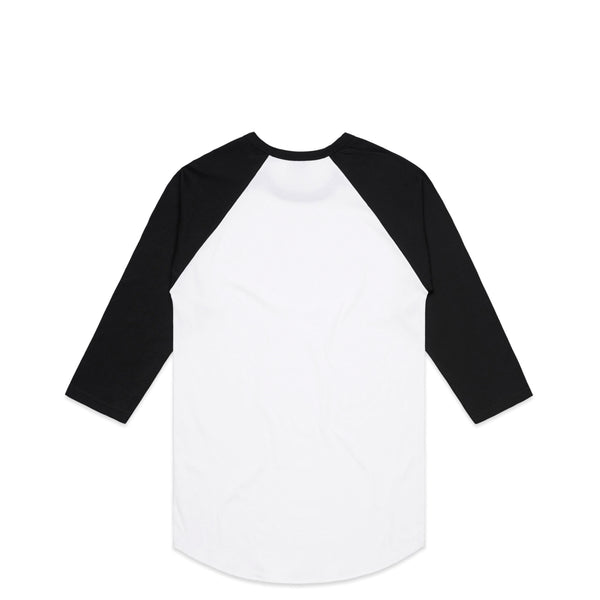 Nautical White Raglan