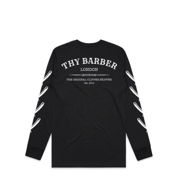 Western Cut Throat Black Longsleeve