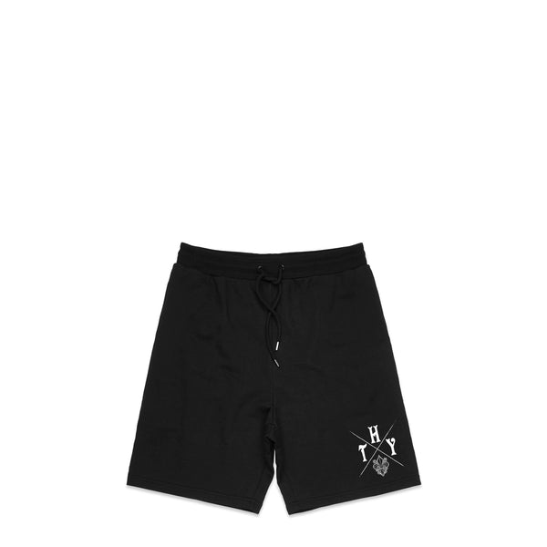 Fleur De Lys Fleurlough Black Sweat Shorts