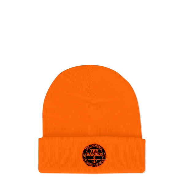 Nautical Blaze Orange Beanie