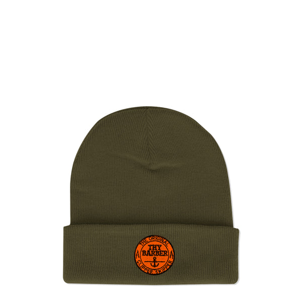 Nautical Khaki Beanie