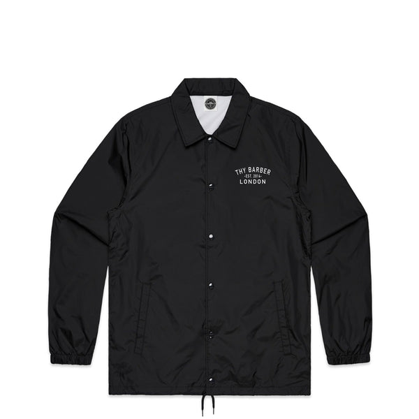 Lockup Black Coach Jacket