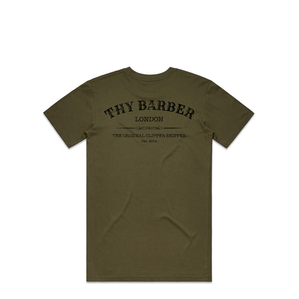 Distressed Western Khaki Premium T-Shirt