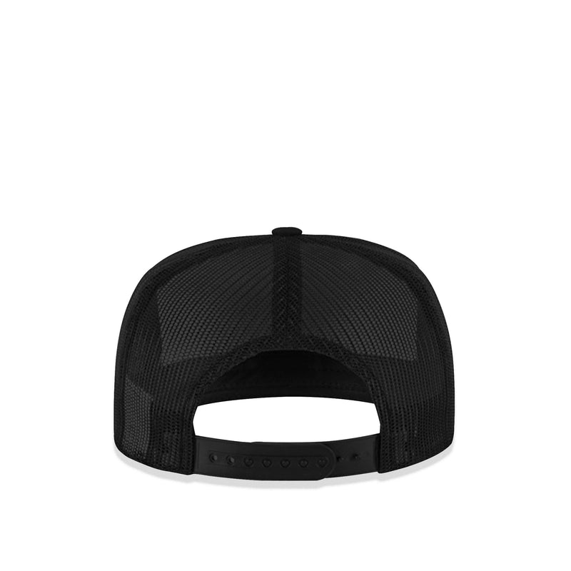 Slick Til Death Black Padded Trucker Cap