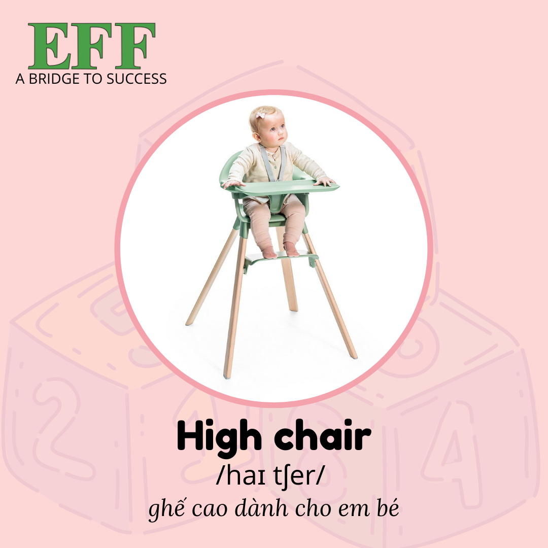 EFF High chair