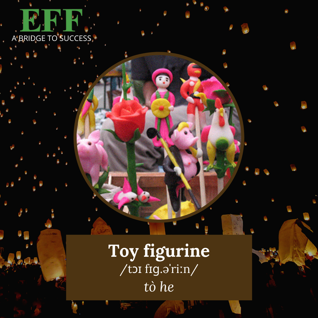 EFF toy figurine