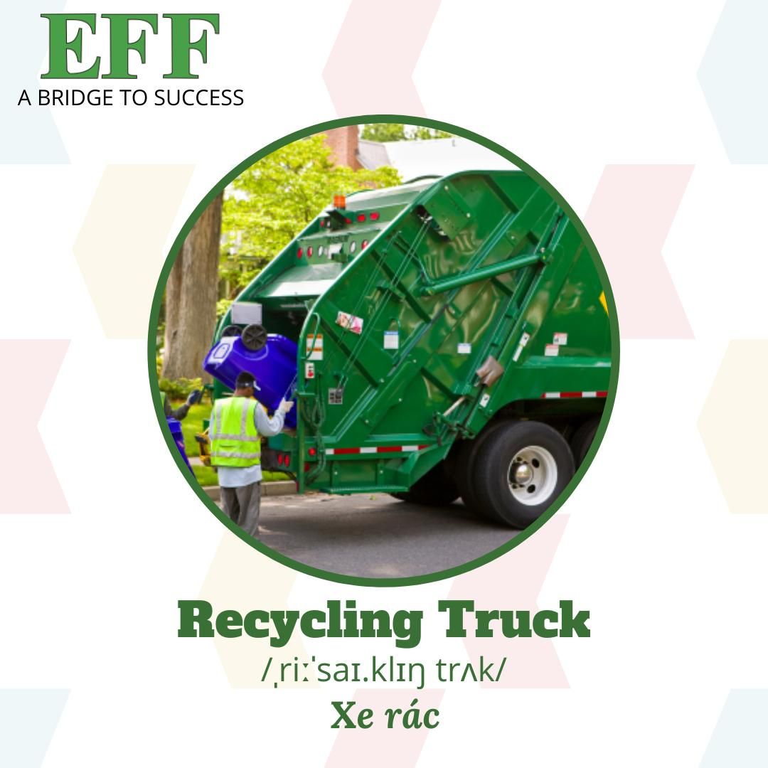 EFF recycling truck