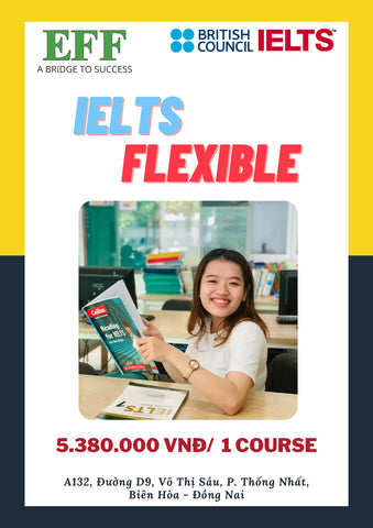 Flexible IELTS (5.0-6.5)