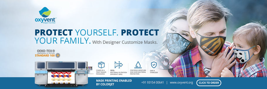 Colorjet earmarks ₹25 Million on technology for Oxyvent Face Filters launch amid pandemic crisis