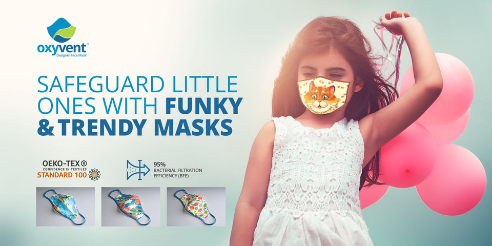 Designer Fashion mask for Kids