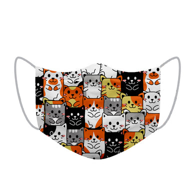 Keep smiling Kitty Kids Face Mask