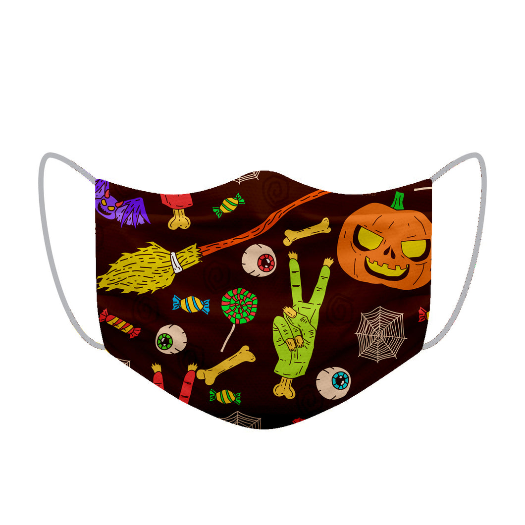 Halloween theme Designer Face Mask