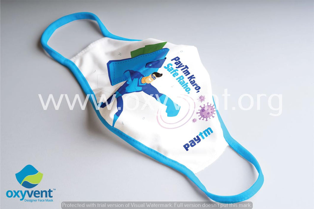 Paytm - Corporate Mask Design