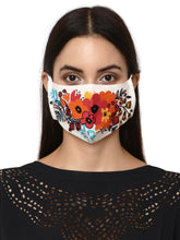 Load and play video in Gallery viewer, Spring Floral Designer face Mask for Women