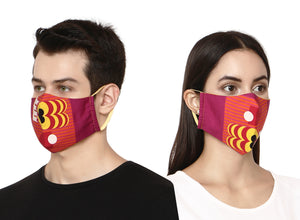Colorful Designer Face Mask