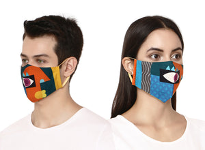 Authentic designer face mask