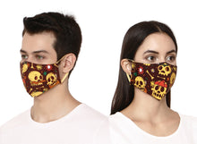 Load image into Gallery viewer, Skull designer Face Mask