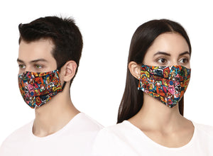 Pop Art Face Mask