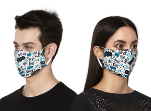 Hustle Designer Face Mask
