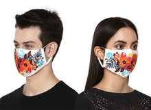 Load image into Gallery viewer, Spring Floral Designer face Mask for Women