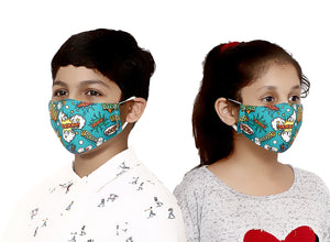 Pop Art Kids Face Mask