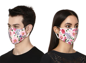 Colorful Nature Design Face Mask
