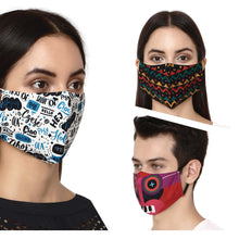 Load image into Gallery viewer, Cotton Mask for Unisex , Men , Women