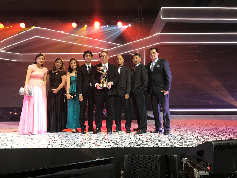 RDF Feed, Livestock & Foods, Inc. Awarded for innovation at 6th Meralco Luminaries