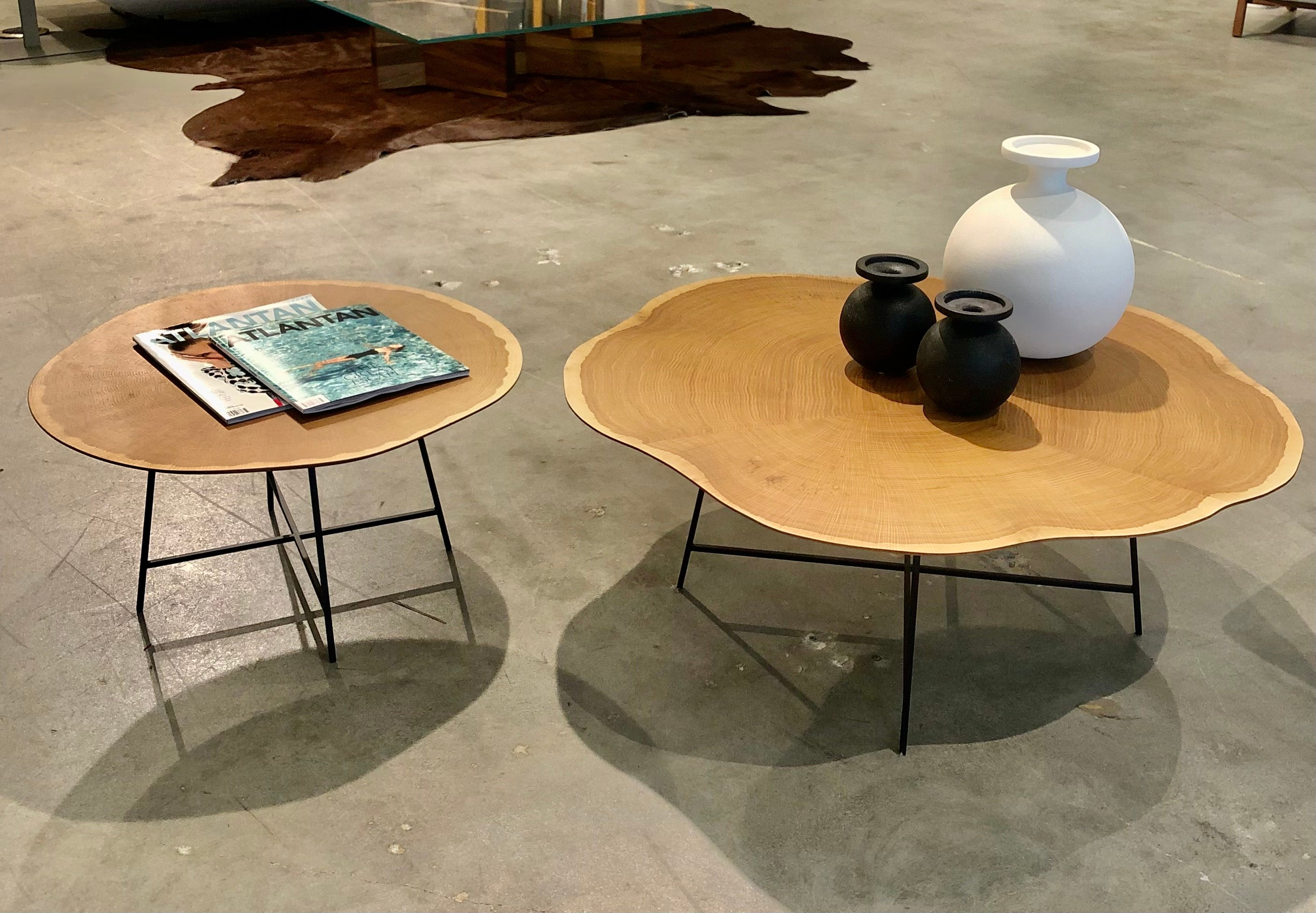 ALBURNI TABLES - Floor Sample