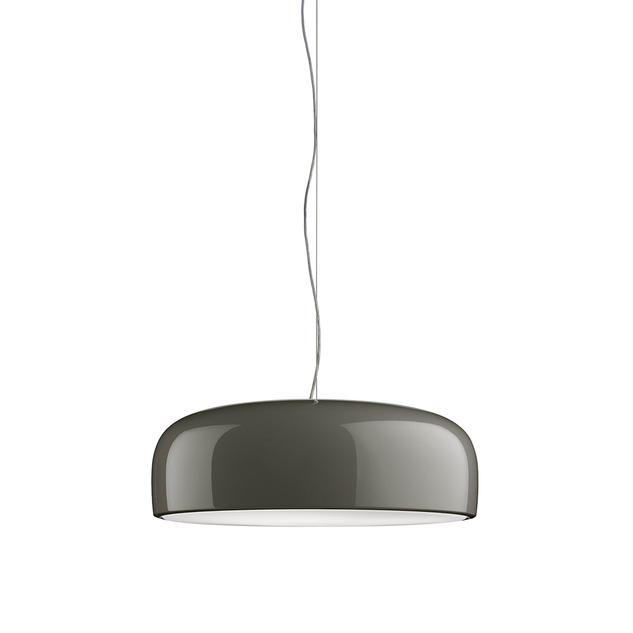 Smithfield S - Fluorescent Non-Dimmable Pendant Lamp in Mud or Black 3 x 36W