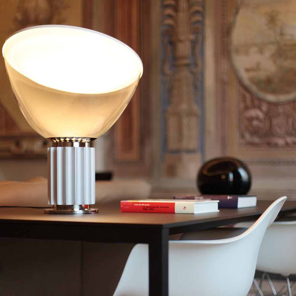 Taccia Small - LED Table Lamp with a Glass Diffuser