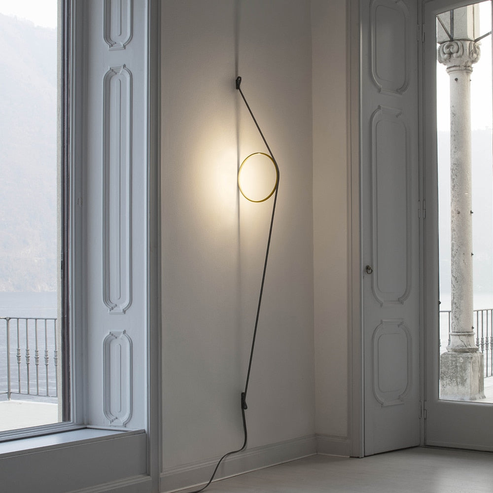 WireRing Wall Sconce Lamp