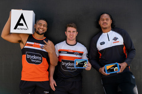 Wests Tigers Athletes Nutrition