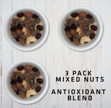 3 Pack Mixed Nuts Antioxidant Blend