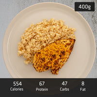 MUSCLE MEAL | 200g Chicken Breast with 200g Brown Rice