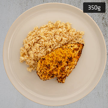 Chicken Breast with Brown Rice