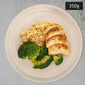 Chicken Breast with Brown Rice & Vegetables
