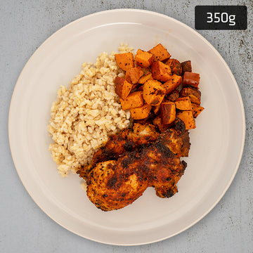 Portuguese Chicken with Sweet Potato & Brown Rice