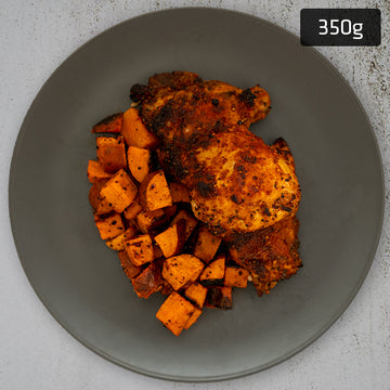 Portuguese Chicken with Roast Sweet Potato