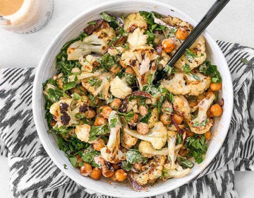 Roast Cauliflower & Spiced Chickpea Salad
