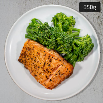 Salmon with Green Vegetables