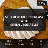 Steamed Chicken Breast with Vegetables