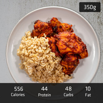 Tandoori Chicken with Brown Rice