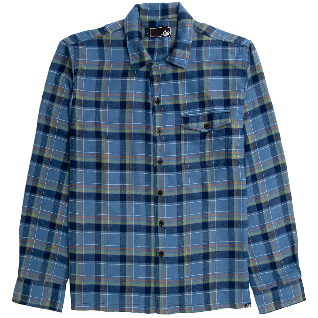 Wasted Flannel Navy
