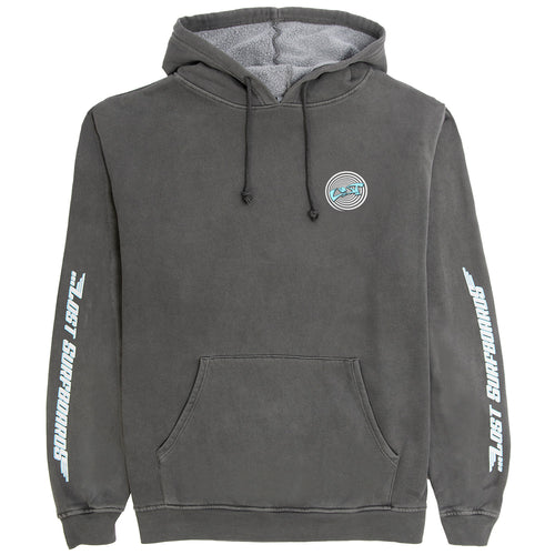 Lost Surfboards Hoodie Vintage Black