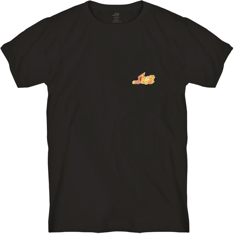 Lost Outline Tee Black