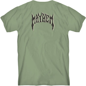Retro Mayhem Tee Moss Green