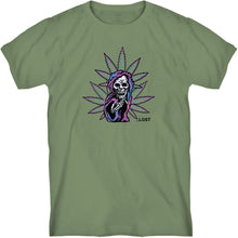 Load image into Gallery viewer, Grim Reefer Tee Moss